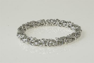kungalänk silver halsband
