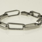 Armband i ovala länkar