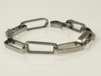Armband ovala länkar (lödd)